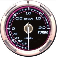 2.5 INCH 60MM Defi Advance C2 Gauge, Turbo Boost Gauge, Pink Model, White Light, DF12602