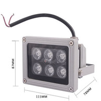 Free Post 6 1w led flood light advertising lamp sign lights landscape lamp