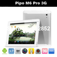 Free Shipping Pipo M6 pro 3G Quad core tablet pc Android 4.2 RK3188 1.6GHz 9.7 inch IPS Retina 2048x1536 2GB HDMI Dual Cameras
