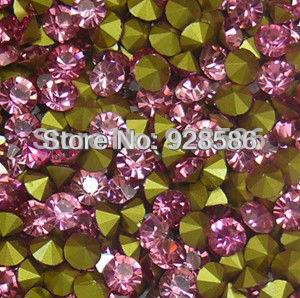 SS13 point back sew on crystals iron on transfers custom rhinestone transfers(China (Mainland))
