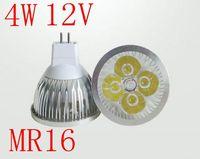 10PCS MR16 4W 12V White/Warm White High Brightness LED Bulb Led Spot Light Free Shipping