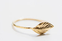 fashion 2014 summer  new arriving couple leaf rings