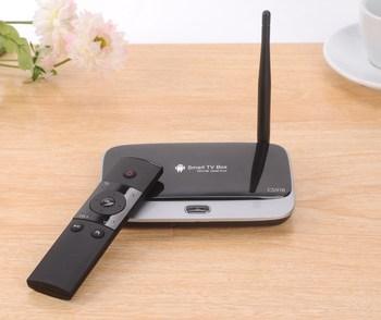 5 Color Choose CS918 Cortex-A9 Mini PC Android TV box 4.2 Quad Core Smart tv box 1.8 GHz  Rk3188 stick + Remote Control