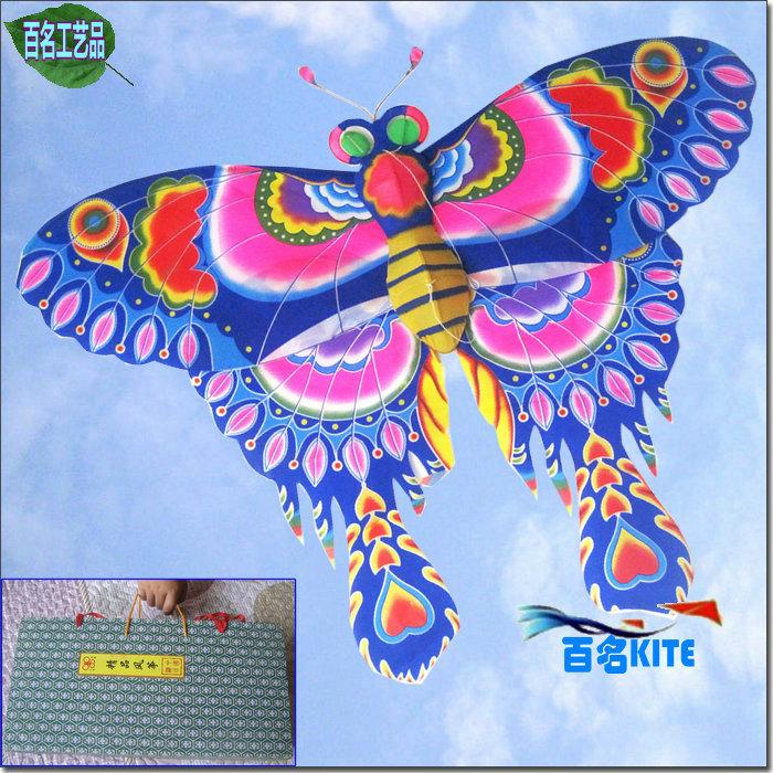 Traditional kite belt gift box 30 meters line board butterfly kite decoration kite gift kite(China (Mainland))