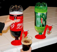 Cola bottle water dispenser switch fizz saver kitchen,dining &bar hand tools bbq kitchen accessories