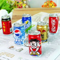 Wholesale mini order $10 (mix order) free shipping cans pepsi cola personalized retractable ballpoint pen cartoon ballpoint pen