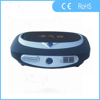 Free shipping+car odorizer With Ozone And Anion To Sterilizer Remove Odor And Smoking