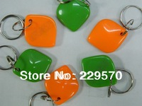 10pcs RFID 125Khz Proximity ID Cards keyfobs, tags key for Card Access Control EM Proximity