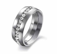 Free Shipping 2013 Men Jewelry High Fashion Rings New Style Titanium Steel Ring
