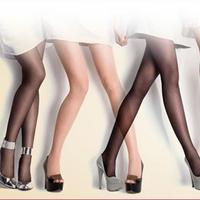 Free Shipping Ultra-thin Core-spun Yarn wire pantyhose sexy stockings female stovepipe socks