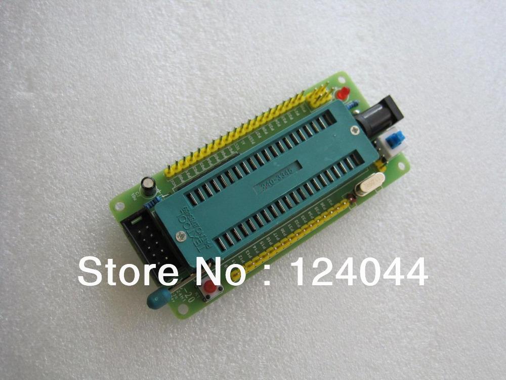 51 avr mcu minimum system board development board learning board stc minimum system board microcontroller programmer(China (Mainland))