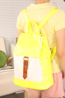 2013 candy color backpack vintage student school bag fashion women's handbag bag vintage bag