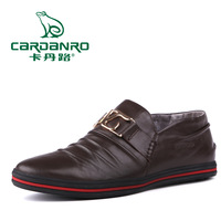 Cardanro 2013 male daily casual genuine leather male shoes leather