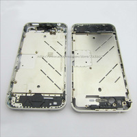 Silver Chrome Middle Chassis Bezel Frame Housing for iPhone 4s Free shipping
