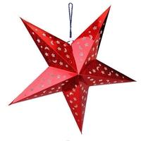 Retail !!! Christmas 90cm Paper Five Star Pentagram Pendant Lamp Shade Bar Ceiling Decoration High Quality 1pcs/lot #C5