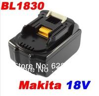 Free shipping New 18V Lithium Battery for MAKITA 18Volt BL1830 3.0AH Rechargeable battery 18V Makita Li-ion Battery
