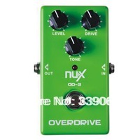 NUX OD-3 Vintage Overdrive Guitar AMP Booster Effect Pedal True bypass Hardware Switching LED Indicator Shows Musical Instrument