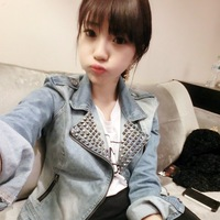 Mushroom autumn women's denim outerwear female motorcycle long-sleeve top 2013