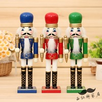 1pcs 25cm nutcracker birthday gift decoration