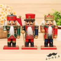 1pcs 15cm small nutcracker decoration married birthday gift