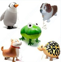 Walking Pet Balloons Boy Birthday Party Decorations 50Pieces Animal Pet Balloons
