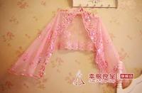 2013 bride wedding cheongsam formal dress cape bridesmaid wedding thin cape lace
