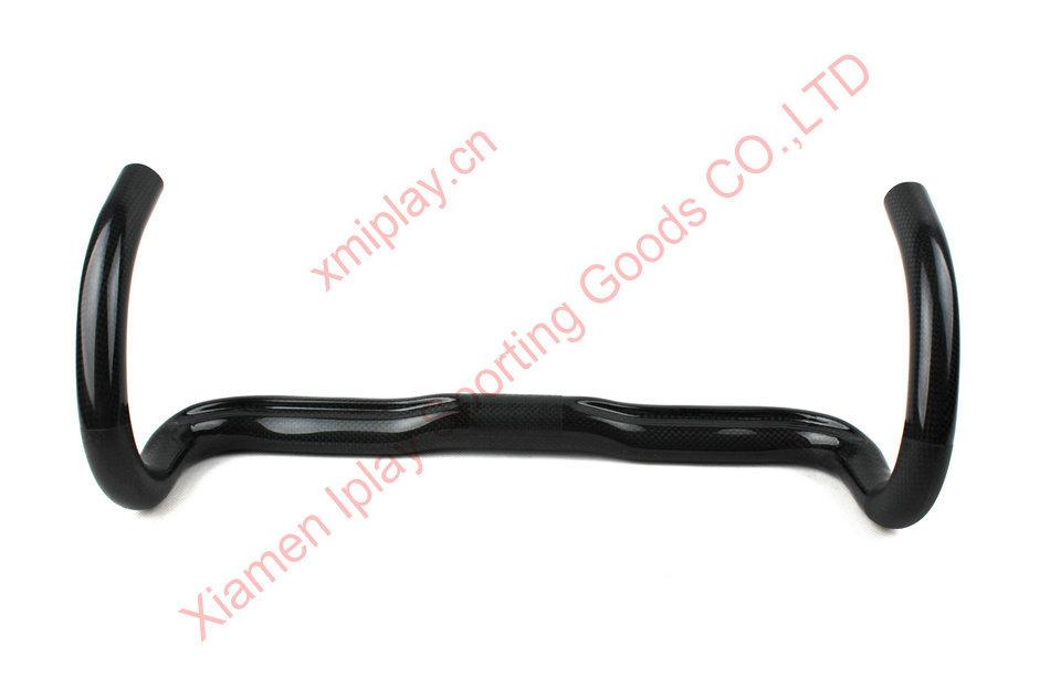 185g Free shipping full carbon fiber handlebar 700c road bicycle carbon handlebar bicycle handlebar carbon road