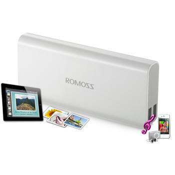Romoss 10400mAh Portable Charger Dual USB External Battery Pack Backup Power Bank + Free shipping