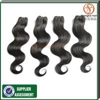 "Grade5A 12""-26"" 4pcs lot 50G/PCS Body Wave Cheap Peruvian Virgin  Human Hair Unprocessed Peruvian Hair Weave Fee Shipping"