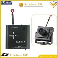 1pcs new 4CH Wireless mini CCTV Camera Recorder DVR+Motion Detect new shipping