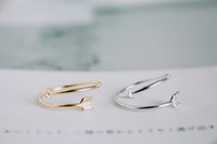 R8 New fashion jewelry cute Arrow finger ring stretch rings for women ladie's knuckle ring wholesale 30pcs lot