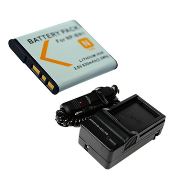 NP-BN1 NP BN1 Batteries+charger  For Sony W630 TX5 W310 T99