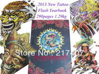 "Chinese Style 2013 New CHINA TATTOO ART Yearbook TOP Tattoo Flash Book Tattoo Designs Sketch Book 11"" Free Shipping"
