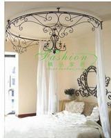 Curtain holder curtain rack princess bed frame mantle bed mantle wrought iron bed mantle iron mosquito net