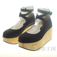 Popular lolita shoes platform shoes platform shoes 8190 wood