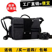FREE SHIPPING Cross-body bags one shoulder slr fashion vintage camera bag canvas camera bag a1011