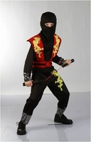 Halloween costume for kids cosplay clothes performance wear child clothes Ninja free shipping