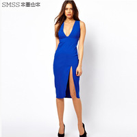 Free Shipping Sexy Tight Women Dresses Low Cut for Night Life