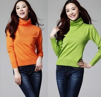 Fall 2013 New Style Thin Knitted Sweater for Women 17 Colours Pullovers Sweater Free Shipping ZX0347