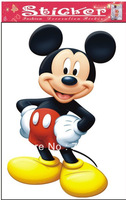 1pc/lot free shipping removable glue Mouse wall sticker for kids decal famous on ebay 53*84cm