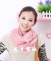 free shipping 2013 autumn and winter classic muffler scarf girls fashion all-match muffler scarf candy color