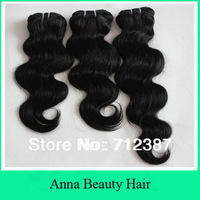 Factory Reasonable Price 3pcs lot Mix Length Indian Remy Body Wave 100% Human Hair 12-32inch 300g/lot 3.5oz/pc Anna Beauty Hair