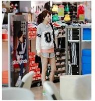 10 pcs/lot k-pop star  tvxq exo sj girl bigbang logo Cotton running pants sports hot  shorts