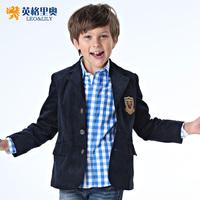 Child suit  children's clothing  child blazer male child autumn blazer outerwear