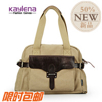 Free shipping , new arrival on sale . Kay lena canvas male one shoulder cross-body bag handbag briefcase casual school bag