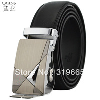 Wholesale special belt buckle genuine leather men's leather belt automatic belt freeshipping