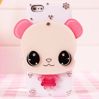ZTE v970 n880e u817 n909 v988 u970s v970 Zte u970 phone case u930 protective case rhinestone cartoon mirror soft case