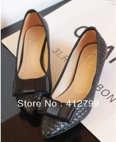 2013 Hot NEW REVA LEATHER Shallow mouth toe the head thick heel in the heel shoes women shoes size 35-41