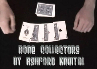 Bone collectors by ashford kneitel perfect a  [ magic teaching video magic tricks teaching magic card free shipping ]