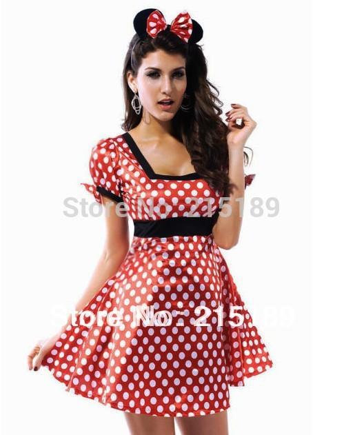 Disfraz de Minnie Mouse para mujer - Imagui